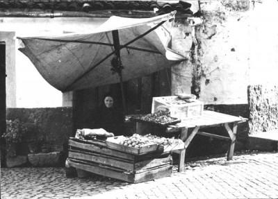 vendedor de castanhas assadas em vila real